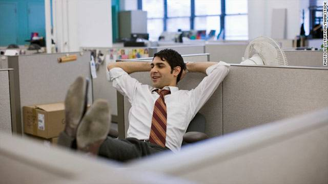 What time is it? Must be 2:55 p.m., which a study finds to be the least productive time of day at work.