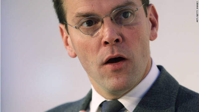 James Murdoch stepping down as chairman of UK broadcaster BSkyB