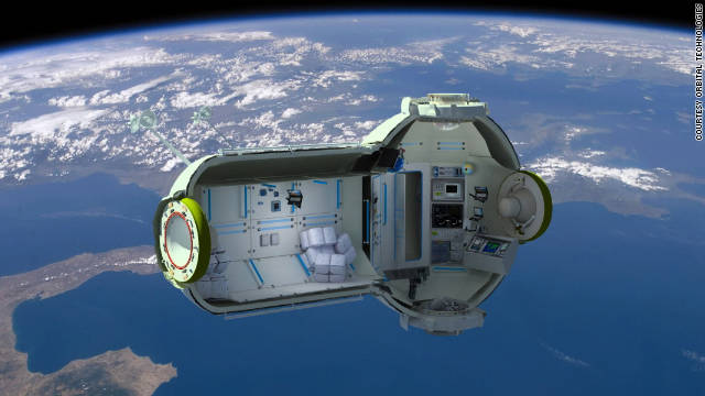 "Russia's ""Commercial Space Station"" is aimed at wealthy tourists who are crazy about space."