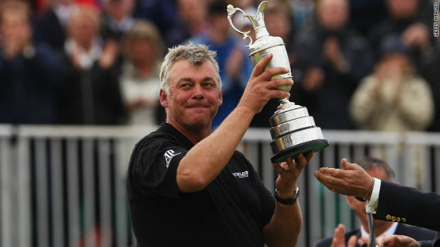 The previous year Darren Clarke won the British Open at Royal St George's -- another men only club. There are nine courses on the Open roster, three of which -- Muirfield, Royal St George's and Royal Troon -- do not have any female members.