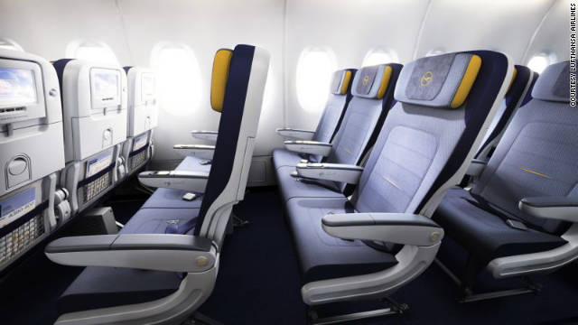 Lufthansa took 10th place in this year's World Airline Awards. The airline is known for providing sleek economy seating with ample legroom.