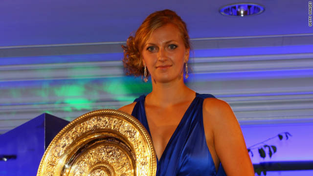 Kvitova came to the fore when she won her first grand slam title at the prestigious English grass-court event last July.