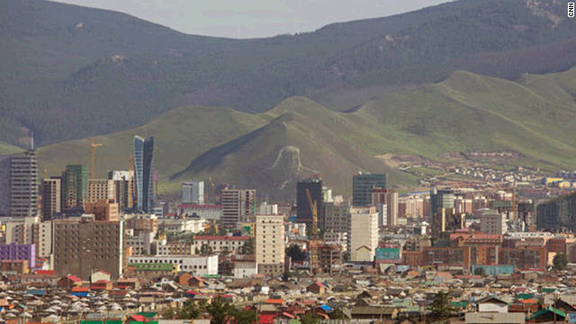 From China, the iron road trip takes in Ulaanbaatar, Mongolia, before crossing into Russia.
