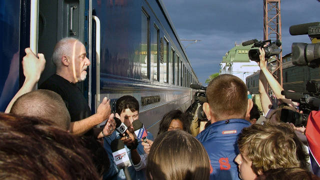 The journey then heads into the heart of Russia via the Trans-Siberian Railway.