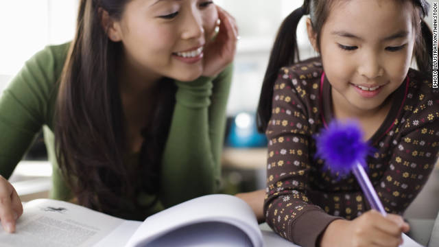 You can help your child with homework without hovering or doing it for them.