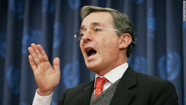 Uribe solicitará protección internacional tras las acusaciones de Nicolás Maduro
