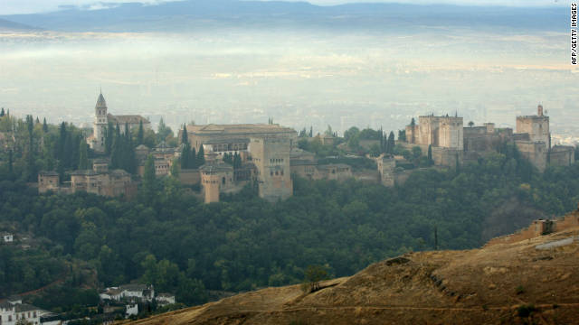 The Alhambra is a Medieval Muslim palace in Granada, Spain, and one of the country's most alluring tourist destinations.