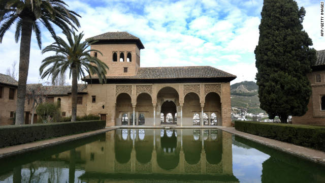 The World Monuments Fund has contributed funds for work with Spain's Patronato de la Alhambra on the restoration of a chapel in the palace of the Partal, pictured.