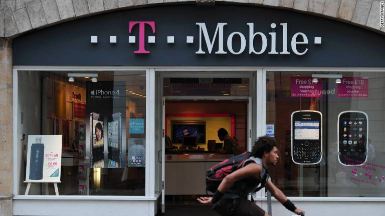 T-Mobile's splashy strategy...