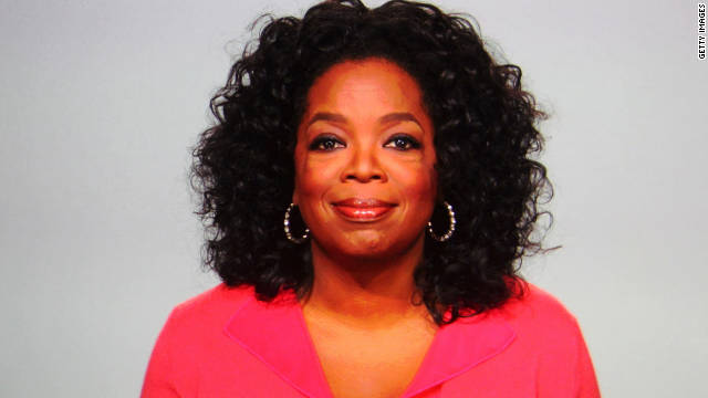 Oprah's Twitter account has 7.2 million followers.