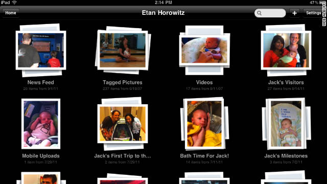The Web Albums app for iPad and iPhone lets you upload batches of photos at the same time.