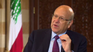 Prime Minister Najib Mikati.