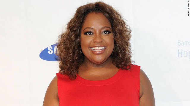 Sherri Shepherd really likes brushing her teeth