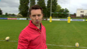 Rugby World Cup crossbar challenge