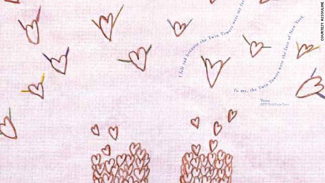 Yvette's artwork.
