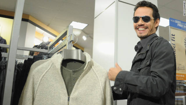 Marc Anthony launches Kohl's clothing line