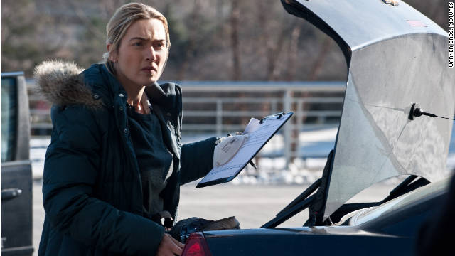 Kate Winslet stars as a young detective in the virus-out-of-control movie