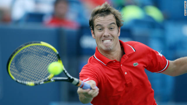 Gasquet won a mixed doubles title at the 2004 French Open as a teenager, but has yet to fulfill his early promise.