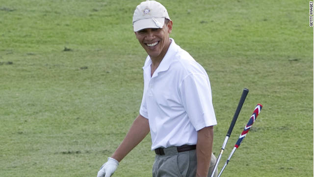 Critics to Obama: Give up golf, not W.H. tours