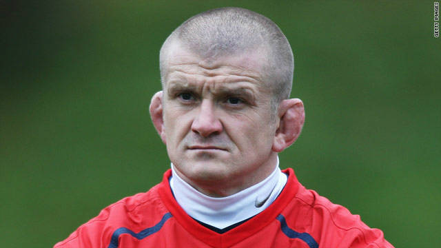 Former England loosehead prop and current England scrum coach Graham Rowntree. Never a man to do things by halves, he is owner of perhaps the finest pair of cauliflower ears in rugby.