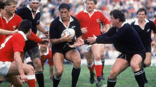 "From a different era: Former New Zealand captain Wayne ""Buck"" Shelford has gone down in history after playing through an injury that would makes most want to give the game up. His scrotum was torn by an opponent's errant stud in a match against France, but was stitched up on the sidelines and continued to play on."