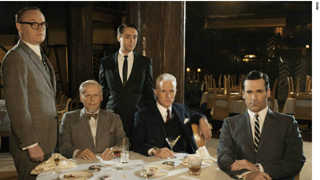 «Mad Men» busca hacer historia en los Emmy con su quinta victoria al hilo