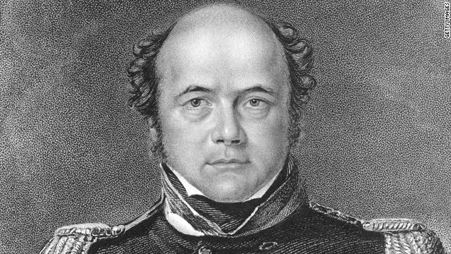 British Royal Navy captain Sir John Franklin set sail in 1845 along with 128 men with enough provisions for three years.