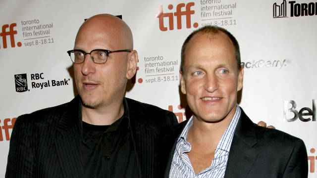 Woody Harrelson, right, has never given such a commanding and well-rounded performance as he shows us in