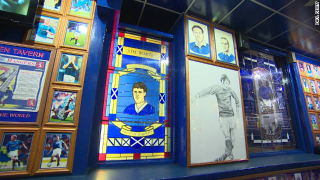 The call The Louden Tavern a drinking hole would be a disservice, it would be more accurate to call it a shrine. How many bars do you know with stained-glass windows in honor of footballers?