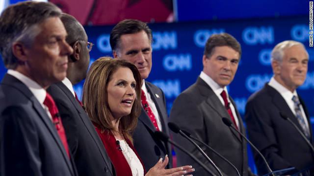 GOP presidential candidates faced questions on immigration at the CNN Tea Party/Republican debate September 12th