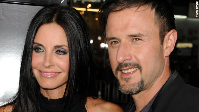 Cox, Arquette on same page in divorce
