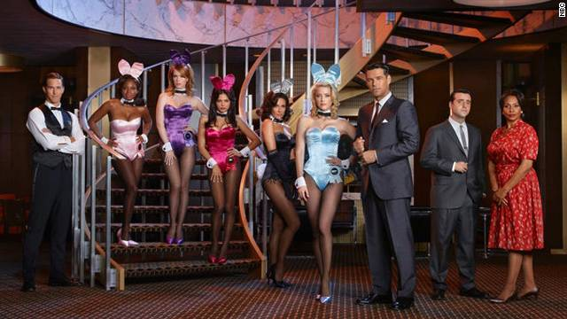 """The Playboy Club"" <a href='http://www.webcitation.org/62CSujVJ7' target='_blank'>reportedly lost advertisers</a> after the Parents Television Council labeled it indecent. The show was axed in 2011 after only three episodes."