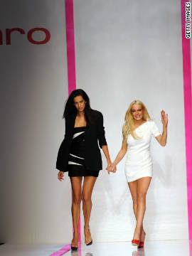 "In 2009 Lindsay Lohan teamed-up with French fashion house Emanuel Ungaro to launch ""6126,"" a line apparently inspired by Marilyn Monroe.<!-- --> </br>"