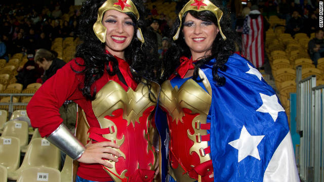 The United States will need a super-human effort to advance beyond the group stage at this World Cup, so it's a good job they have comic-book hero Wonder Woman backing them in the southern hemisphere.