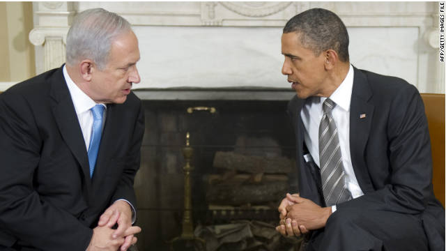 An awkward meeting with Israeli Prime Minister Benjamin Netanyahu in May followed Obama's controversial speech.