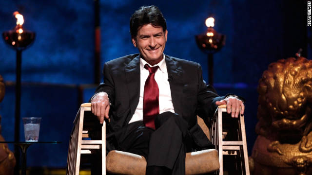 Charlie Sheen will be Charlie Sheen for Halloween