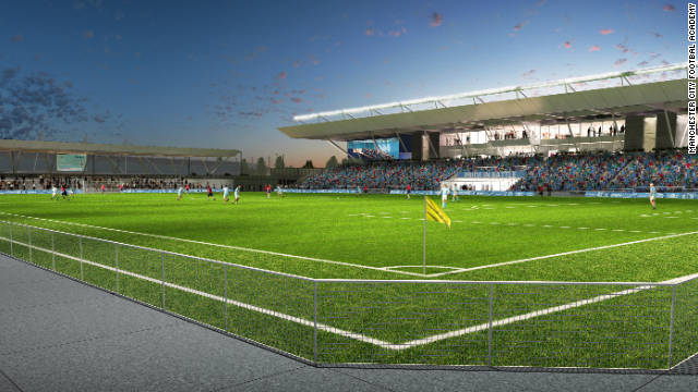 The complex will boast a 7,000-seater stadium, which will play host to the club's youth team matches.