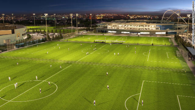 City's potential stars of tomorrow will have 11 full-size youth pitches and four full-size first team pitches to hone their skills on.