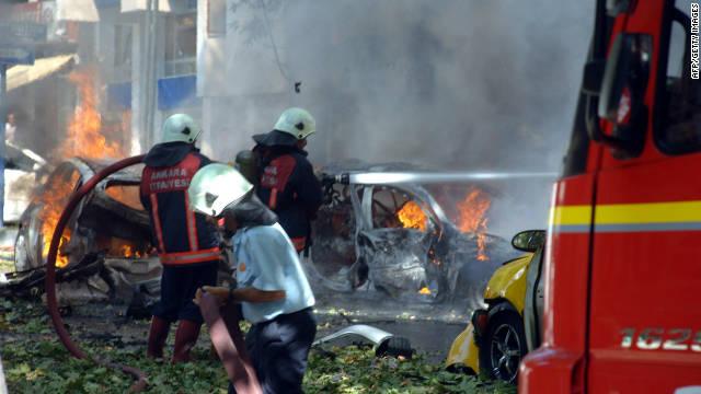 Tres muertos y varios heridos en una explosión en Ankara