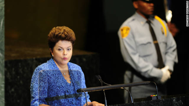 Dilma Rousseff assumed office in January 2011, becoming the first woman to become Brazil's president. Other female leaders in Latin America are Laura Chinchilla and Cristina Fernndez de Kirchner, presidents of Costa Rica and Argentina, respectively.