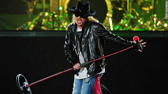 "Axl Rose dice ""No"" al Salón de la Fama del Rock and Roll"
