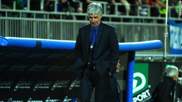 El Inter de Milán despide a su técnico Gian Piero Gasperini