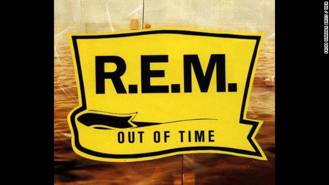 """Out of Time,"" R.E.M.'s first No. 1 album, featured the song ""Losing My Religion,"" which hit the Billboard Top 5 in 1991."