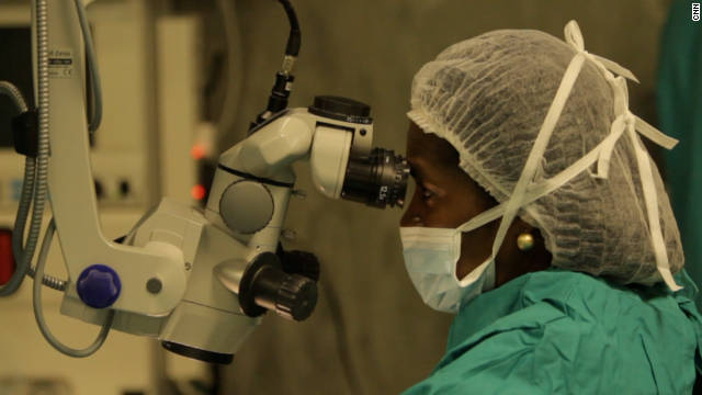 Ndume is head of the eye department in Namibia's largest hospital, Windhoek Central.