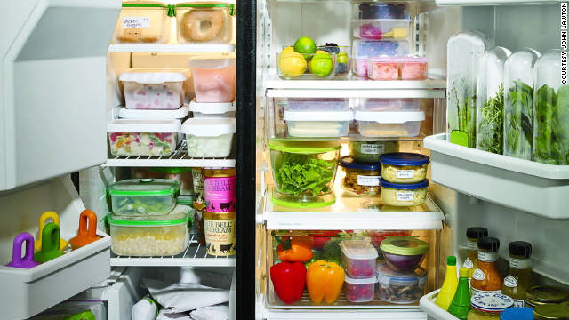 This weekend, give your fridge a makeover.