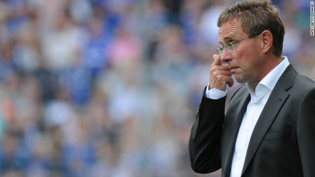 Ralf Rangnick has quit his job as Schalke coach after just six months in the position.