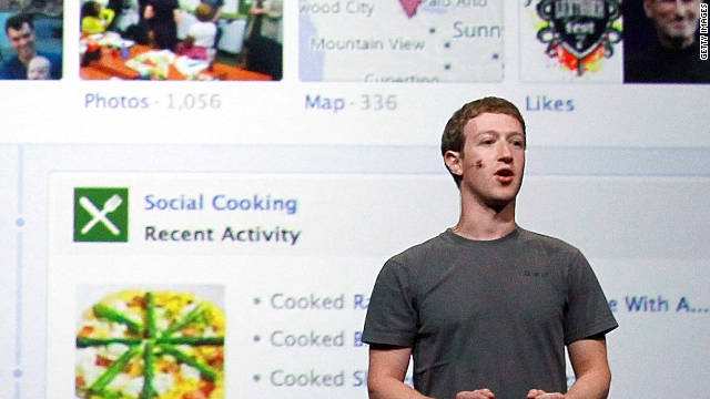 Facebook CEO Mark Zuckerberg delivers a keynote address during the Facebook f8 conference last week in San Francisco.