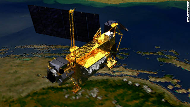NASA's Upper Atmosphere Research Satellite is expected to re-enter the atmosphere Friday or Saturday.