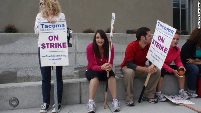 Tacoma teachers ending 8-day strike, district says