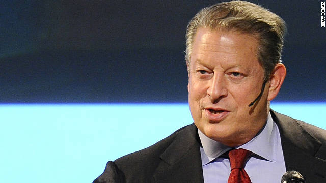 Al Gore sees dark clouds if Romney wins